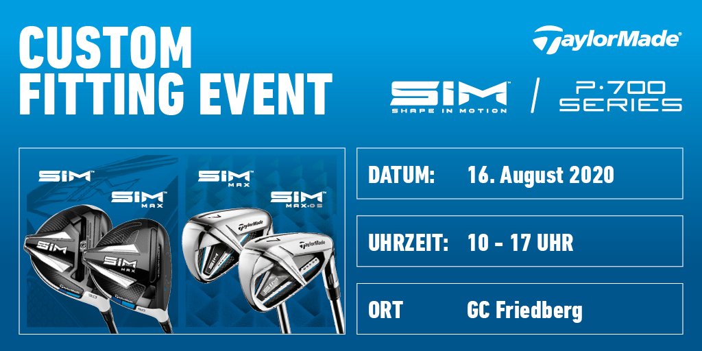 TaylorMade Custom Fitting Event